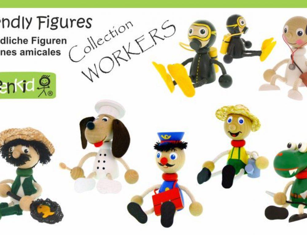Dřevěné figurky – Povolání