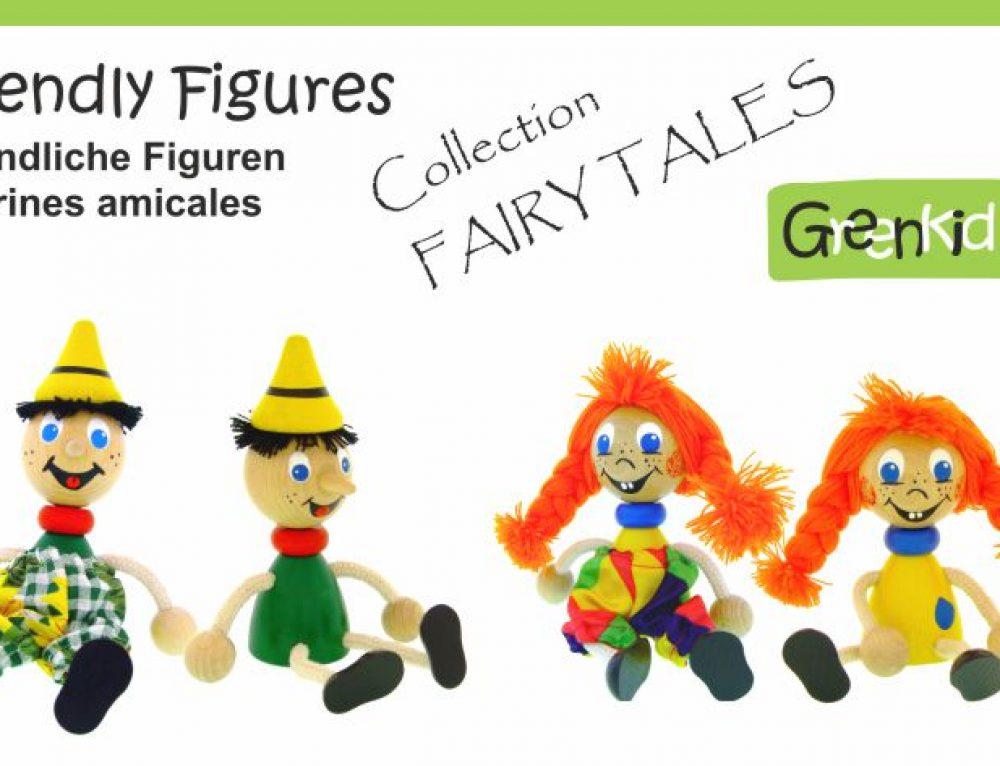 Dřevěné figurky – Pohádkové postavy