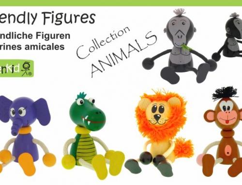 Dřevěné figurky – Zvířátka