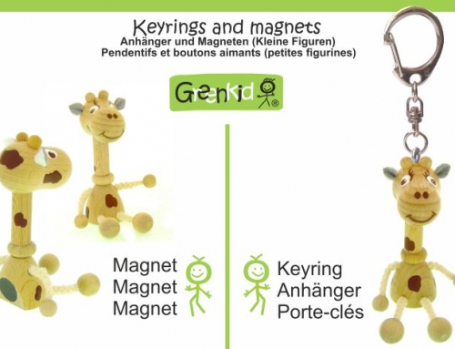 Magnetky a klíčenky