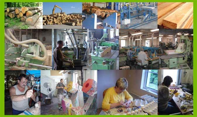 Abafactory výroba českých dřevěných hraček zpracování dřeva, ruční práce a malba.