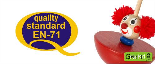 Abafactory kvalitní výroba českých bezpečných dřevěných hraček ve shodě sharmonizovanou evropskou normou EN 71.