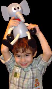 Dřevěné hračky a dekorace do dětského pokoje Greenkid . Dřevěný slon - dřevěná figurka maxi od Abafactory českého výrobce dřevěných hraček.