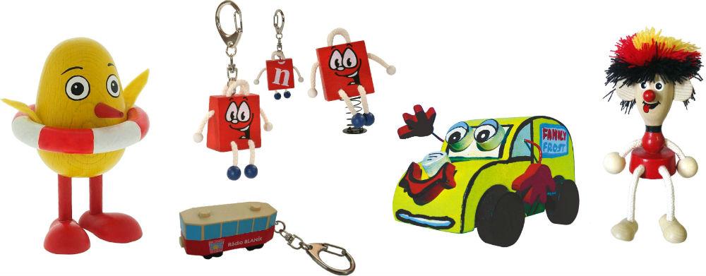 Dřevěné klíčenky a originální dekorace Greenkid nejen pro děti od Abafactory - český výrobce kvalitních dřevěných hraček.