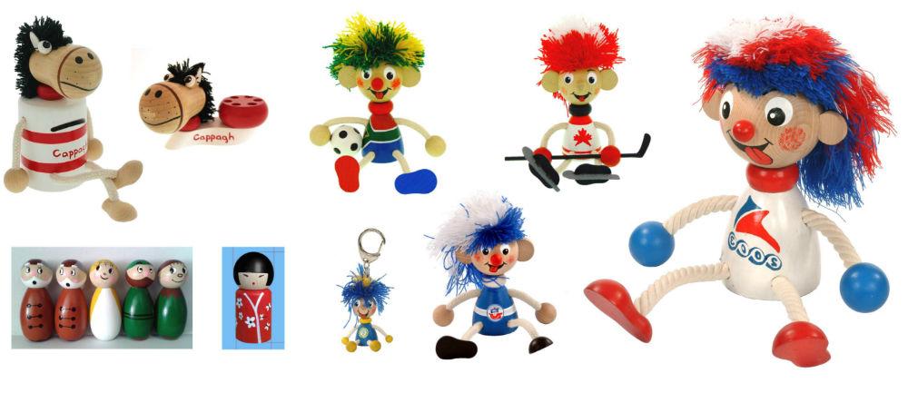 Dřevěné přívěsky, magnetky a originální reklamní předměty Greenkid. Česká výroba kvalitních dřevěných hraček a dekorací Abafactory nejen pro děti.